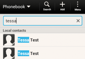 Duplicated accounts on HTC